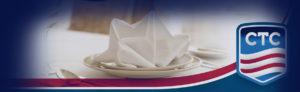 White Linen Napkin Rentals for Restaurants in Oklahoma, Texas, Kansas