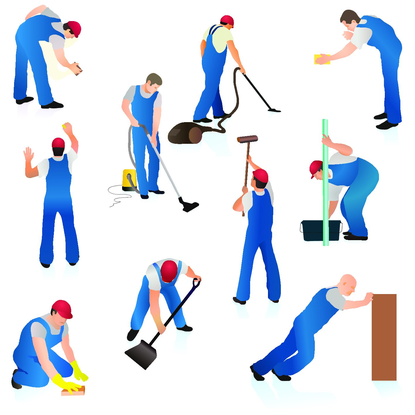 janitorial staff supply