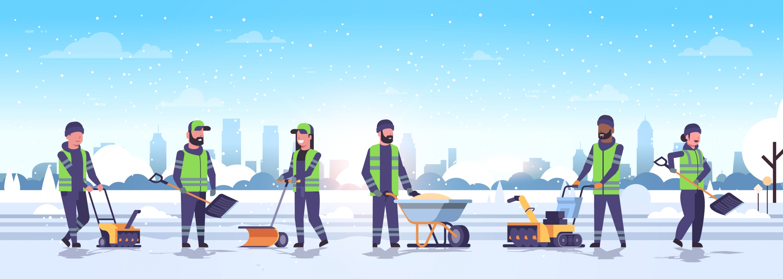 protect industrial employees winter
