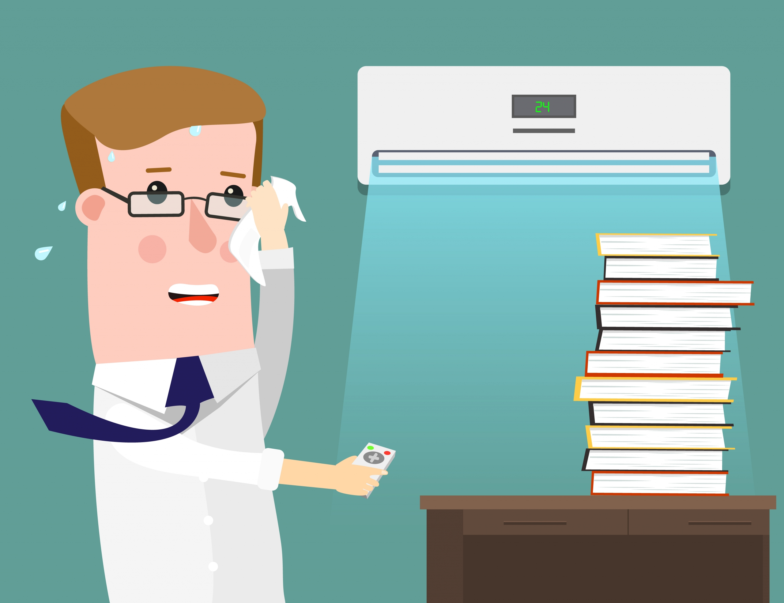 temperature affects employee productivity